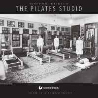 BALANCED BODY Plakat Joe Pilates - Studio