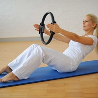 SISSEL Pilates Circle - obręcz oporowa do pilatesu - 38cm