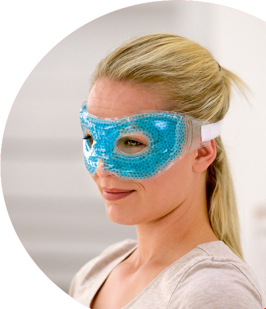 Sissel Hot-Cold Pearl Eye Mask
