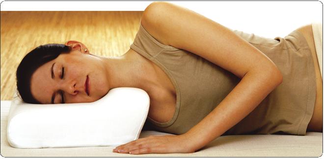 Wyprofilowane poduszki ortopedyczne
